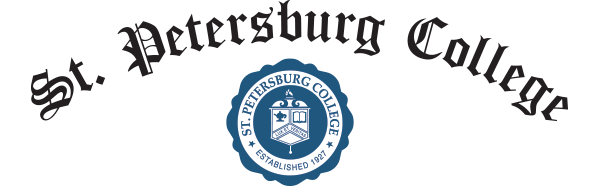 St. Petersburg College banner text